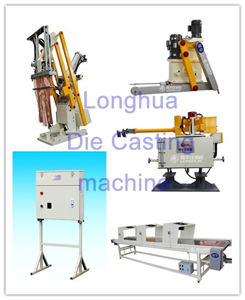 Peripheral Robots of die casting machine