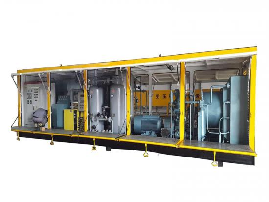 High pressure nitrogen equipment
