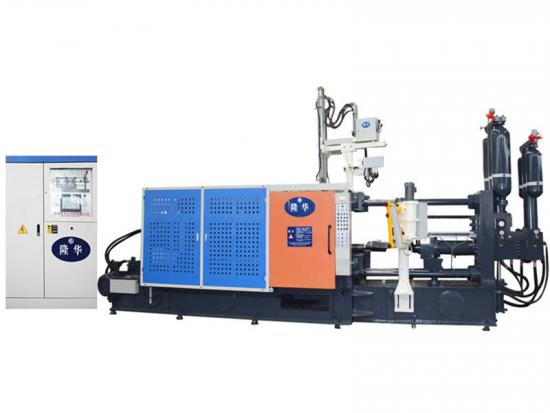 Electric rotor die casting machine