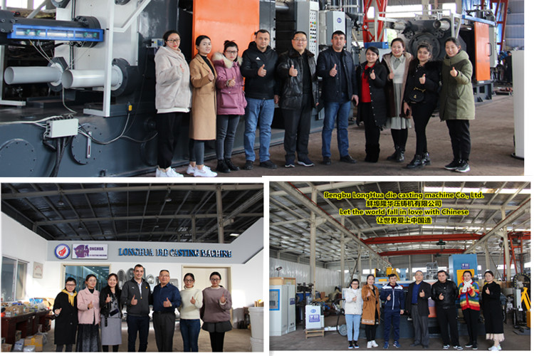 Our customers and friends visit the factory